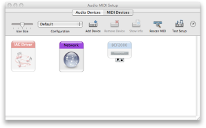 MIDI setup on a MAC